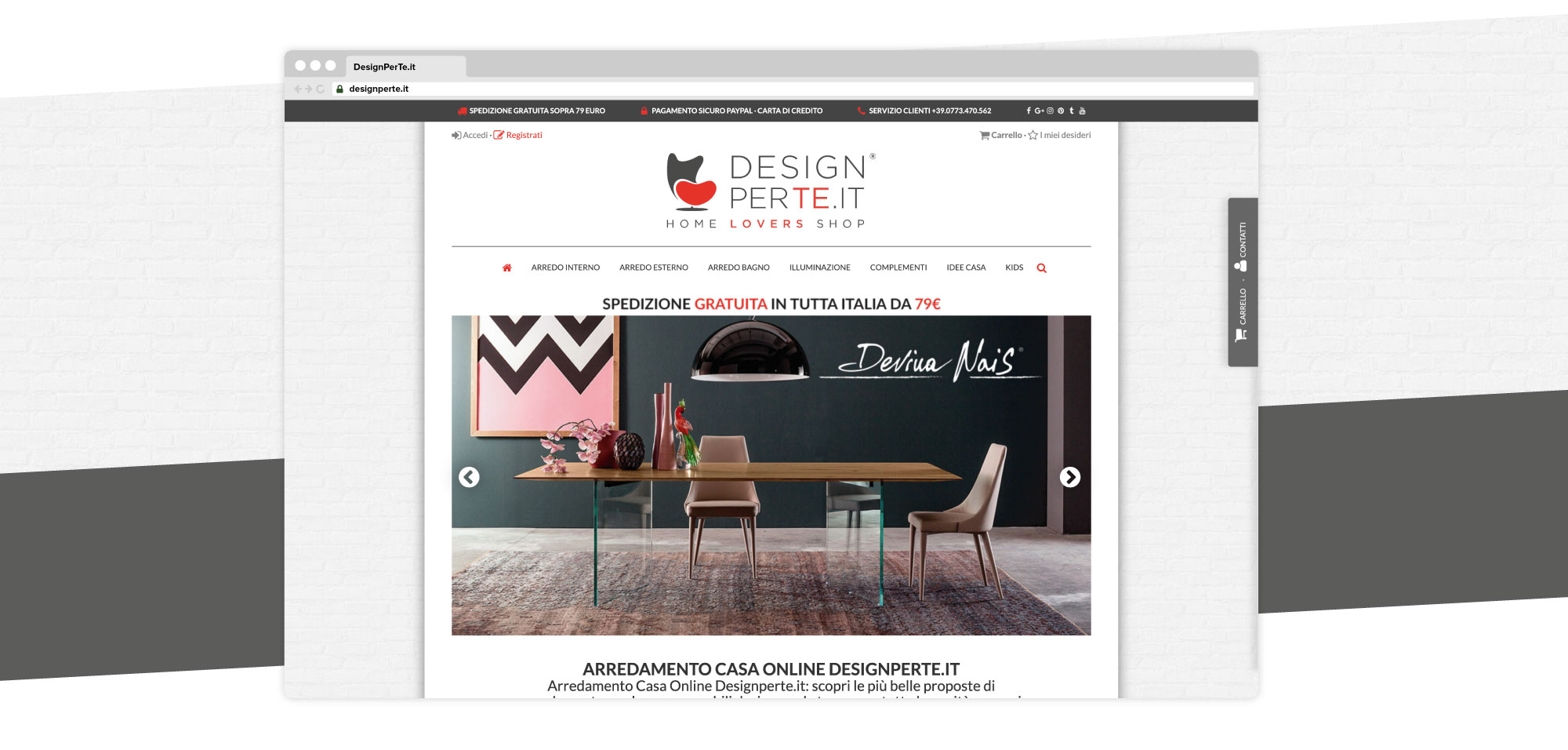 Ecommerce designperte.it