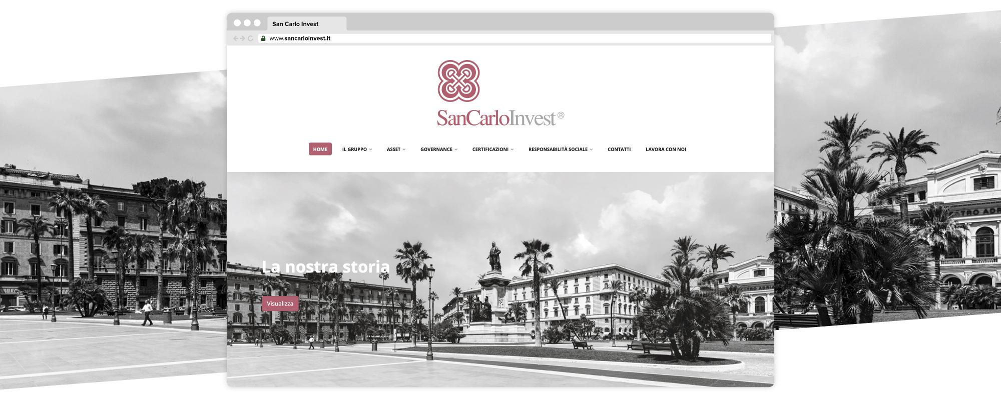 Gruppo San Carlo sito web